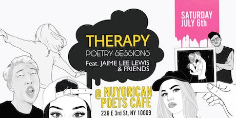 THERAPY: Poetry Sessions, Featuring Jaime Lee Lewis & Friends tickets