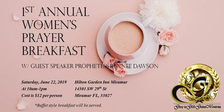 1st Annual Women's Prayer Breakfast tickets