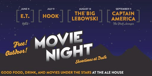 The Ale House GJ Summer Series: Outdoor Movie Night