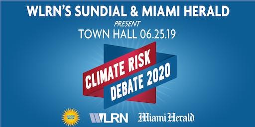 WLRN's Sundial & Miami Herald Present - A Climate Risk Conversation