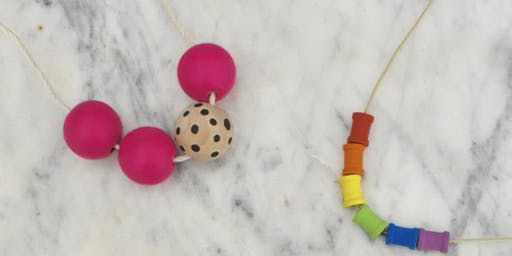 Summer Camp Sundays - Wooden Bead Necklace workshop