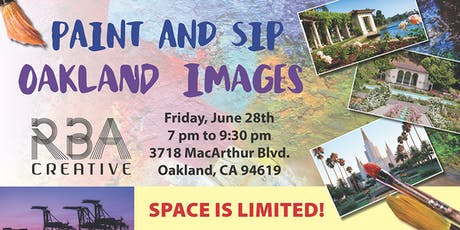 Landmarks of Oakland Paint and Sip tickets