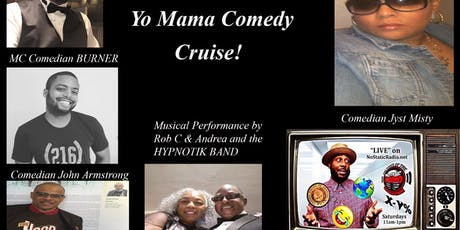 "NoStaticRadio presents the ""Slap Yo Knee Not Yo Mama Comedy Cruise!"" tickets"
