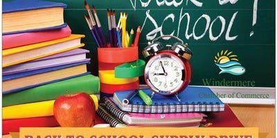 Back to School Supply Giveaway