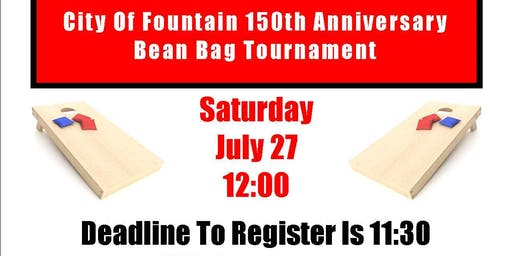 City Of Fountain 150th Anniversary Bean Bag Tournament