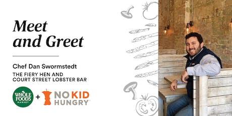 Meet and Greet: Chef Dan Swormstedt of Court Street Lobster Bar tickets