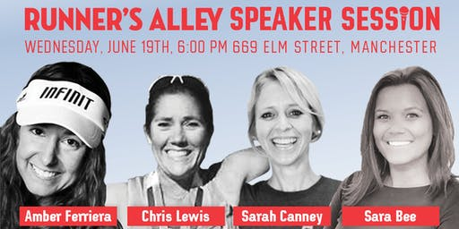 Runner's Alley Speaker Session