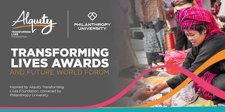 Transforming Lives Awards Ceremony & Future World Forum tickets