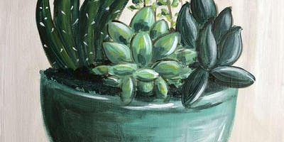 Sweet Succulents Thursday Night Paint Party