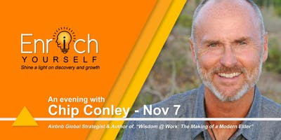 Enrich Yourself Speaker Series: CHRIS CONLEY
