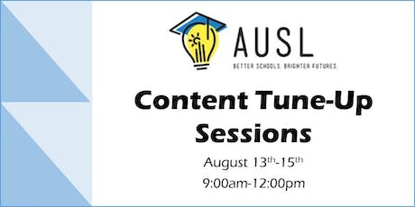 AUSL Content Tune-Up Sessions tickets