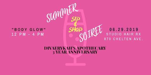 DivaErykah's Apothecary Summer Soiree Sip & Shop