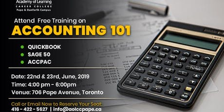 Introduction to Accounting 101 tickets