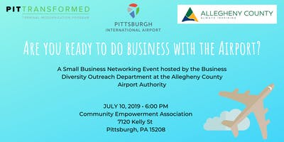 Are you ready to do Business with the Airport?