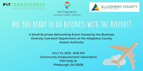 Are you ready to do Business with the Airport? tickets