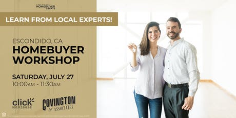 Free Escondido HomeBuyer Workshop: Learn from local experts! tickets