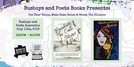 Busboys Books Presents: Use Your Voice, Make Some Noise & Break The Silence tickets