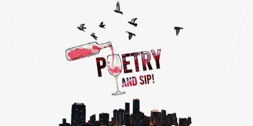FOKUS x Jaime Lee Lewis present Poetry and Sip June 2019