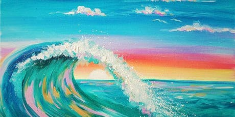 Colorful Wave Saturday Night Paint Party tickets