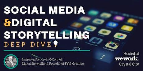 Social Media & Digital Storytelling Deep Dive - Washington D.C. tickets