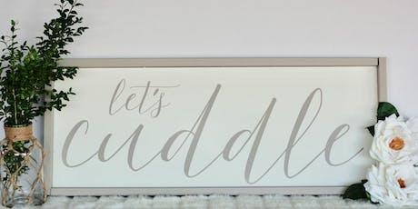 Sign Making Workshop - Let's Cuddle  tickets