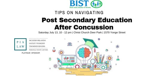 Back to School Post Concussion Workshop