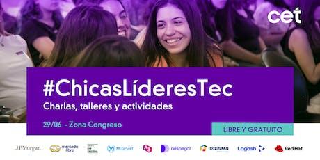 Chicas Líderes en Tecnología: Un día en tu futuro entradas