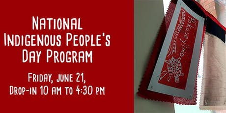 Indigenous People's Day Program tickets
