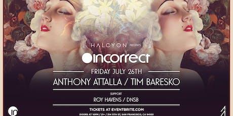 Anthony Attalla and Tim Baresko tickets