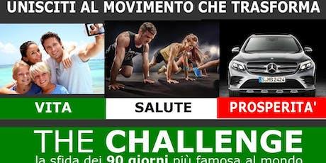 TheCHALLENGE (TO) 19/6 biglietti