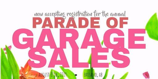 Bassano Parade of Garage Sales