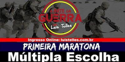 BRASÍLIA-DF | ARTE DA GUERRA - MARATONA MÚLTIPLA ESCOLHA