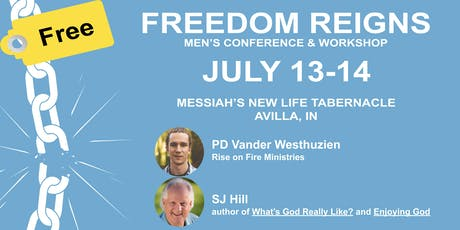 Freedom Reigns Men's Conference & Workshop tickets