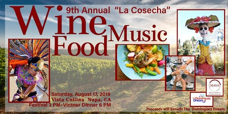 "2019 ""La Cosecha"" Wine Harvest Festival tickets"