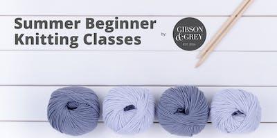 Summer Beginner Knitting Classes