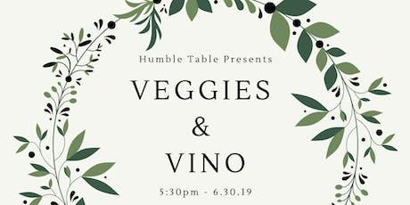 Veggies & Vino tickets