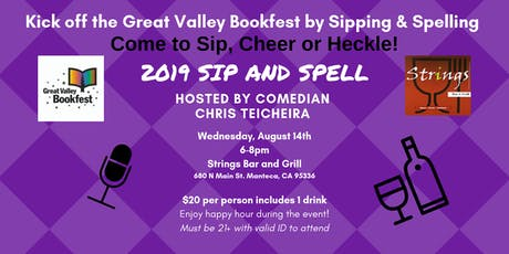 Great Valley Bookfest  2019 Sip and Spell tickets