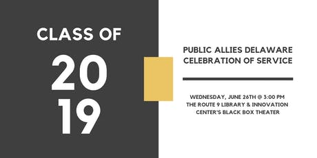 Celebration of Service: Class of 2019  tickets