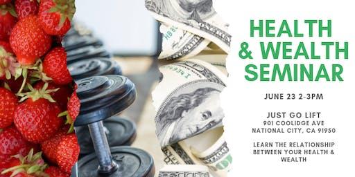 Health and Wealth Seminar