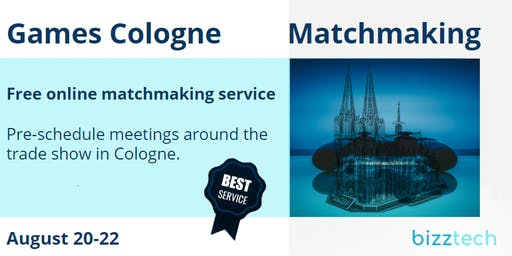 Games Cologne  Matchmaking | August 20-22, 2019