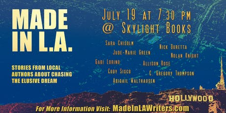 Made in L.A. Book Launch at Skylight Books: Chasing the Elusive Dream tickets
