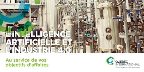 L'intelligence artificielle et l'Industrie 4.0 au service de vos objectifs d'affaires billets