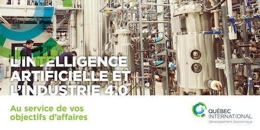 L'intelligence artificielle et l'Industrie 4.0 au service de vos objectifs d'affaires