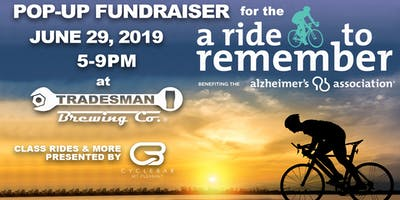 Pop-Up Fundraiser for Ride to Remember benefitting the Alzheimers Assoc.