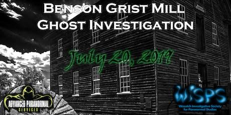 Benson Grist Mill tickets
