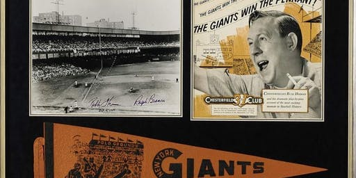 Exhibition Opening- HOME PLATE: A CELEBRATION OF THE POLO GROUNDS