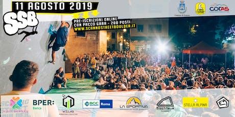 Scanno Street Boulder Contest 2019 - Pre-Iscrizione biglietti