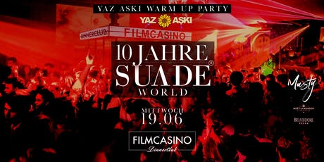 10 Jahre Suade Entertainment // Das Jubiläum im Filmcasino  Tickets