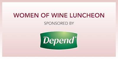 TELLURIDE WINE FESTIVAL: WOMEN OF WINE LUNCHEON SPONSORED BY Depend®