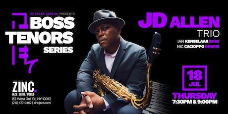 Boss Tenors Series: JD Allen tickets